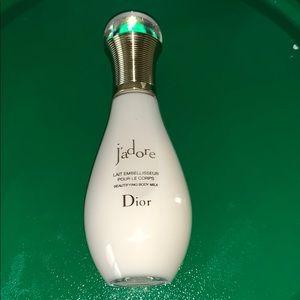 New Dior J'adore body milk